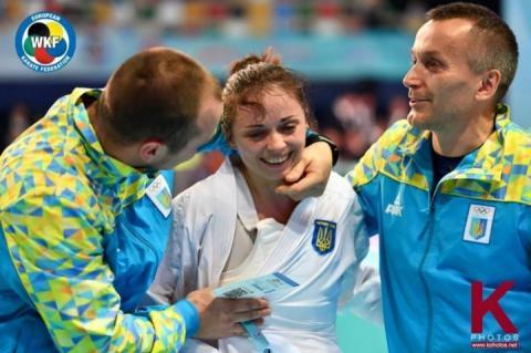 Львів'янка Катерина Крива здобула «срібло» третього етапу «Karate 1 Series A»
