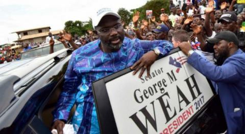 Володар «Золотого м'яча»-1995 Веа балотується на посаду президента Ліберії