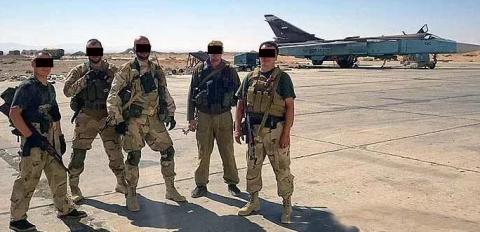 В російських військових у Сирії знову великі втрати