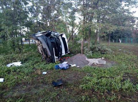 У Вінницькій області перекинувся мікроавтобус, є загиблий