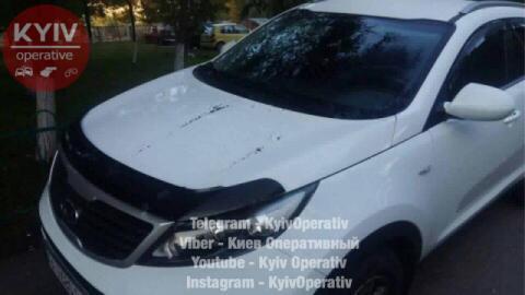 """""""Збіг?"""": У Києві на 30 машин вилили кислоту"""