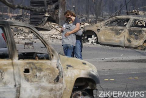 У Каліфорнії не вщухають лісові пожежі – повідомляється уже про 23 загиблих