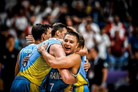 Збірна України з баскетболу піднялася в ТОП-20 світового рейтингу ФІБА