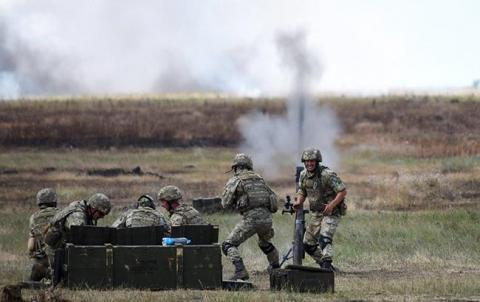 У зоні АТО поранений один український військовий, - штаб