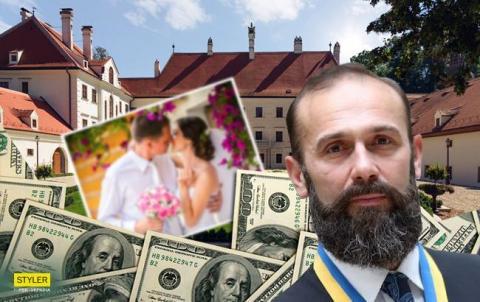 В мережі розповіли про розкішне весілля в Австрії сина українського судді