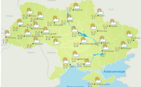 Наступного тижня буде тепла погода та без дощів – Укргідрометцентр