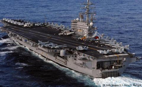 США перекинули до Корейського півострова атомний авіаносець «Рональд Рейган