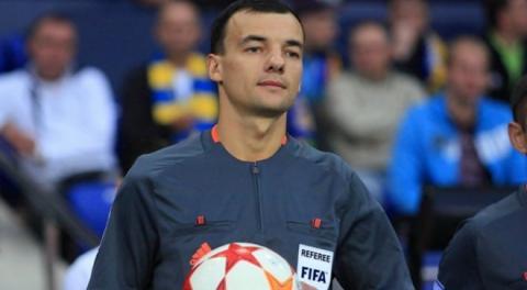 Українська бригада арбітрів судитиме матч Ліги Європи «Астана» – «Маккабі» Тель-Авів