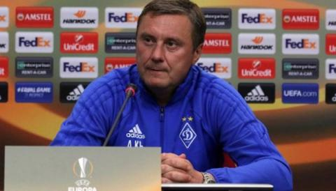 Тренер «Динамо» Олександр Хацкевич: Є деякі проблеми і сумніви по деяких позиціях