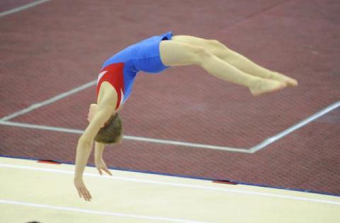 У Львові фінішував юніорський чемпіонат України-2017 зі стрибків на акробатичній доріжці