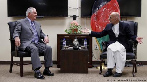 Тіллерсон здійснив неоголошений візит до Афганістану