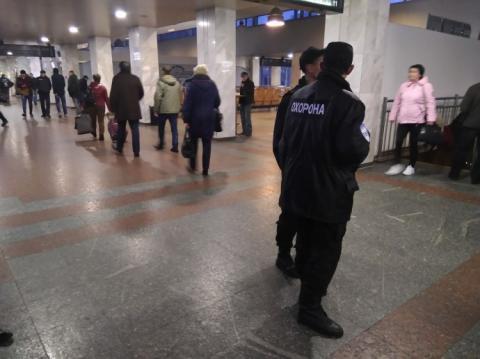 Центральний залізничний вокзал в Києві евакуюють через загрозу вибуху