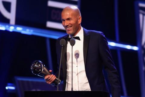 Француз Зінедін Зідан став найкращим тренером 2017 року за версією ФІФА