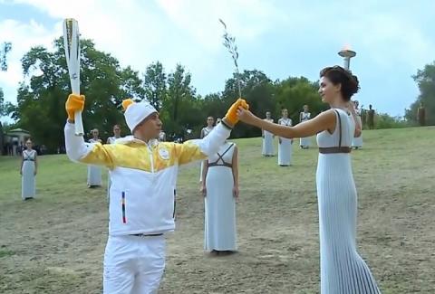 Олімпійський вогонь зимових Ігор-2018 сьогодні було запалено у Греції