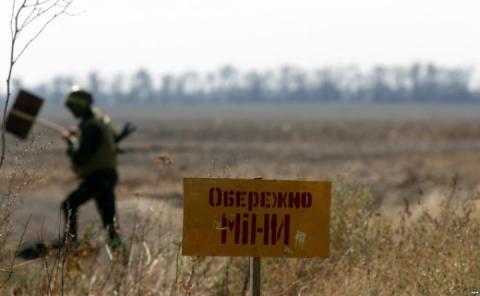 ООН: Заміновані території Донбасу – серед найбільших у світі