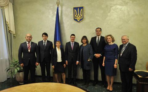 В'ячеслав Кириленко зустрівся з представниками Бюро Парламентської Асамблеї ЄС- Східні сусіди