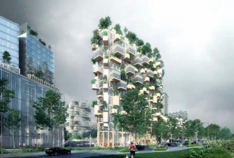 У Франції з'явиться перший «вертикальний ліс» Finance.ua