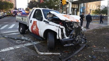 Теракт в Нью-Йорку, де загинули 8 осіб, скоїв прибічник ІДІЛ