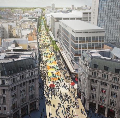 У Лондоні заборонять авто на найжвавішій торговельній вулиці міста