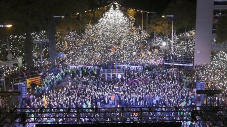 У Барселоні 750 тисяч осіб вимагали звільнення політв'язнів