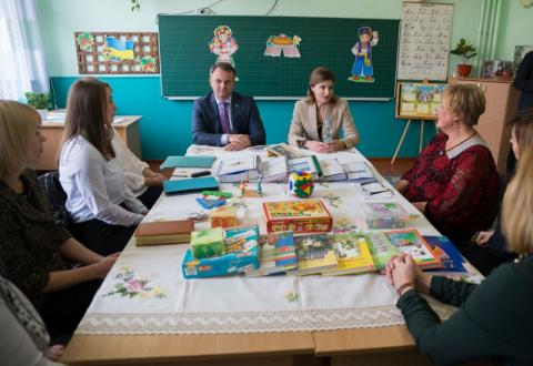 Львівщина долучилася до проектів Марини Порошенко – «Книга Миру» та «Арсенал Ідей Україна»