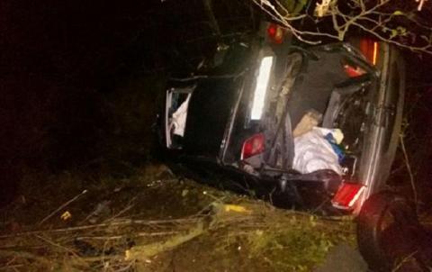 У Рівненській області в ДТП загинула жінка і дитина, ще 4 особи травмовано