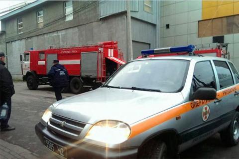 У Хмельницькому сталася пожежа в оздоровчо-розважальному комплексі