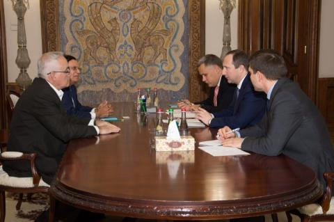 Глава АПУ провів зустріч з президентом компанії Holtec International