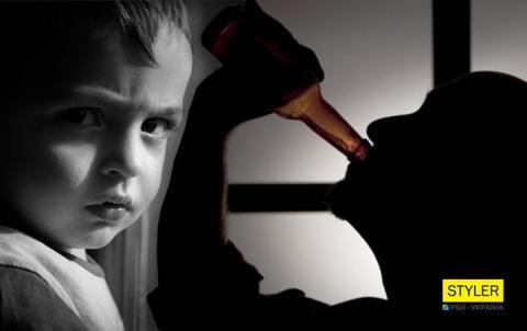 В Донецькій області п'яний вітчим загубив дитину