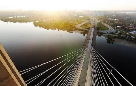 У Києві завтра обмежать рух по Південному мосту