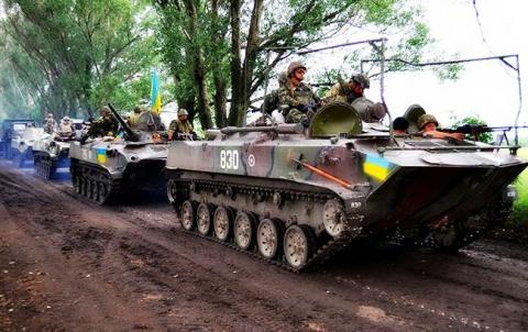 В зоні АТО за добу загинув один український військовий, 3 поранені