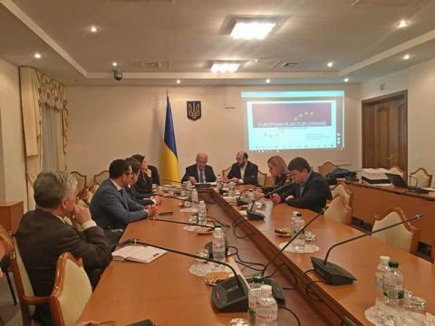 """У Комітеті у закордонних справах відбулася зустріч народних депутатів щодо реалізації """"Нового європейського інвестиційного плану для України"""""""