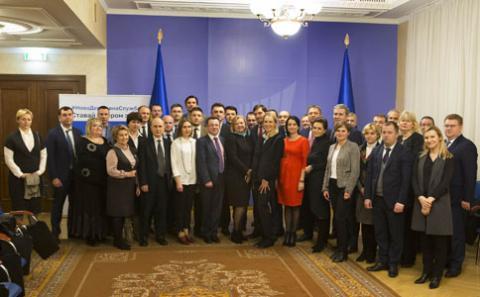 Перші 25 переможців конкурсів на посади гендиректорів зустрілись з командою реформи держуправління та європейськими партнерами