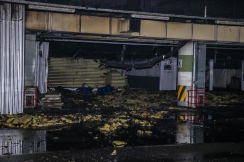 У Києві сталася пожежа у популярному гіпермаркеті: з'явилися подробиці інциденту