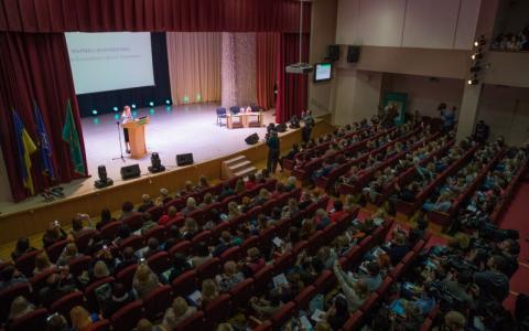 Марина Порошенко відкрила Міжнародний конгрес «Інклюзія в новій українській школі»