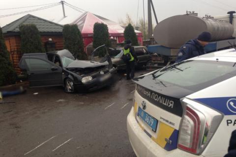 У Рівненській області сталася ДТП за участю 5 автомобілів, є загиблий