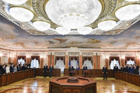 Глава держави про новий Верховний Суд: Ми відкриваємо нову сторінку в історії правосуддя у нашій країні