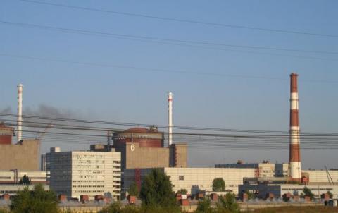 Енергоблок №6 Запорізької АЕС відключено для ремонту