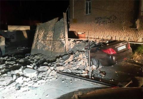 Жертвами землетрусу в Іраку та Ірані стали 145 осіб