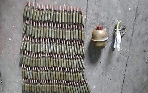 У Донецькій області правоохоронці вилучили зброю і боєприпаси