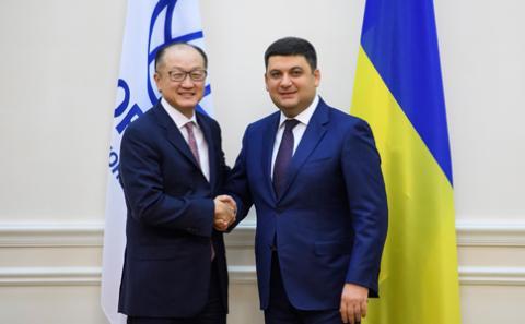 Світовий банк є надійним партнером України, і ми готові запропонувати багато спільних проектів, - Володимир Гройсман під час зустрічі з Президентом Джим Йонг Кімом