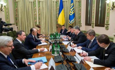 Президент України зустрівся з Президентом групи Світового банку