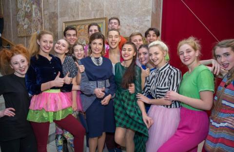 Марина Порошенко привітала молодь Харківщини із Міжнародним днем студентів