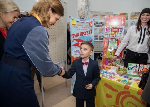 Інклюзивна освіта дозволить дітям з особливими освітніми потребами бути рівними в українському суспільстві - Марина Порошенко на Форумі «Вчимося жити разом»