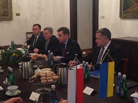 Україна та Польща зміцнюватимуть стратегічне партнерство – зустріч заступника Глави АП Єлісєєва з Державним секретарем Республіки Польща Щерським