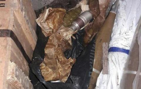 У Донецькій області виявили 10 гранатометів і майже три тисячі набоїв