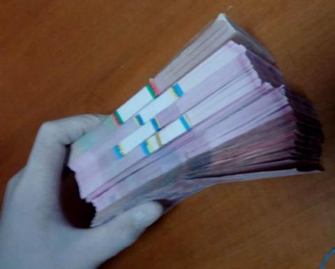 В Кіровоградській області затримали чиновників РДА на хабарі 150 тисяч гривень