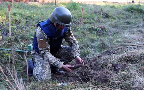 В Україні з початку року вилучили та знищили понад 73 тисячі вибухонебезпечних предметів