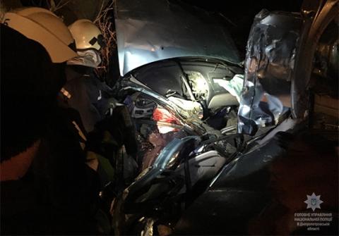 Поліція відкрила справу за фактом смертельної ДТП у Дніпропетровській області