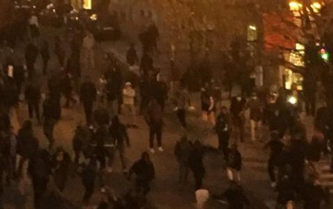 Безладдя в Брюсселі: затримано 100 осіб